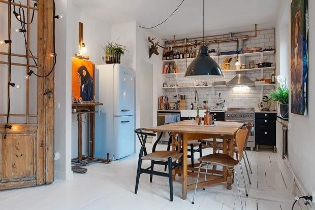 małe mieszkanie, zdjęcia mieszkań, mieszkanie w skandynawskim stylu, skandynawskie mieszkanie
