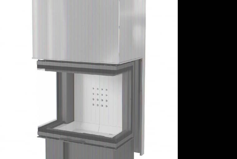 NBC/KRATKI   Moc nominalna: 10 kW   sprawność cieplna: 81%   wersja z potrójnym przeszkleniem otwieranym do góry (gilotyna)   nowoczesny design. Cena: 9000 zł, www.kratki.com