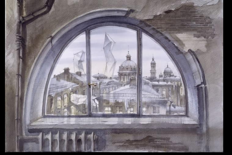 Sergiei Tchoban. Kontrastowa harmonia miasta- wystawa w Muzeum Architektury we Wrocławiu.