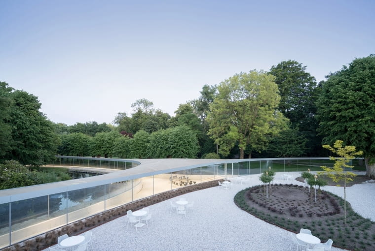 Park Groot Vijberburg Visitor Center. Proj. junya.ishigami + associates