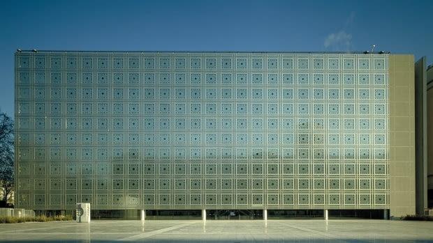 Instytut Świata Arabskiego w Paryżu, proj. Jean Nouvel