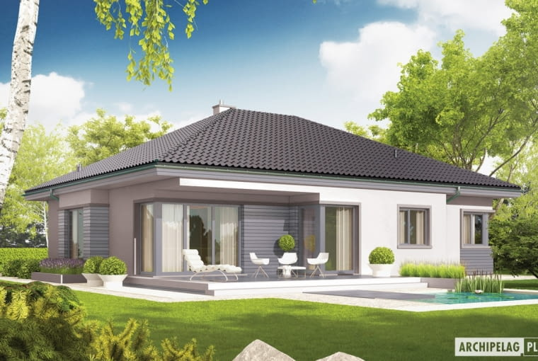 Projekt domu Eris II G2 (wersja C)
