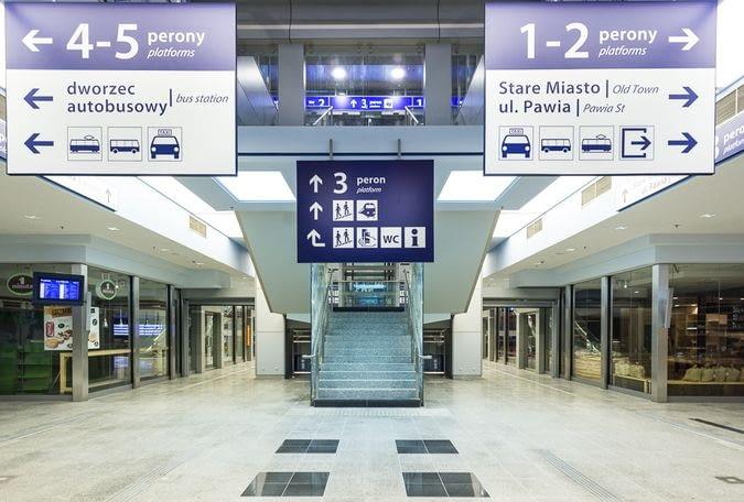 Dworzec kolejowy w Krakowie
