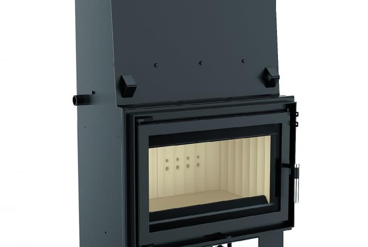 Aquario O16/KRATKI.PL | Moc grzewcza: 8-16 kW | sprawność: 84,4% | wymiary (wys./szer./gł.): 1335 x 778 x 524 mm | materiał: stal kotłowa 5 mm, komora spalania wyłożona Acumotte | cechy: specjalny zespół płaszcza wodnego pozwala na odebranie ze spalin i przekazanie do systemu grzewczego dużej ilości ciepła, dwuszybrowa regulacja wylotu spalin, wbudowany króciec dolotu powietrza z zewnątrz r125 mm, system dwóch deflektorów, wbudowana wężownica. Cena: 6100 zł, www.kratki.pl