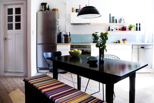 białe kuchnie, kuchnie, wnętrza, styl skandynawski, meble kuchenne