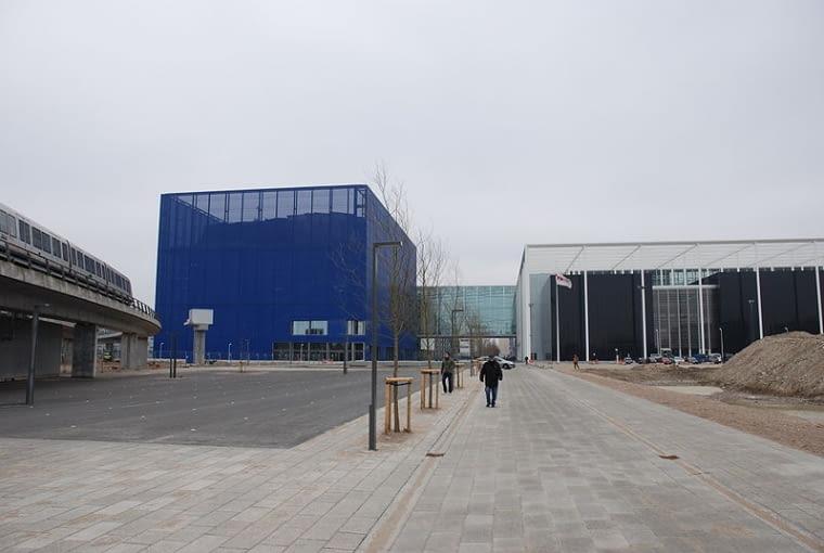 DR Concert Hall w Kopenhadze, autorstwa Jeana Nouvela
