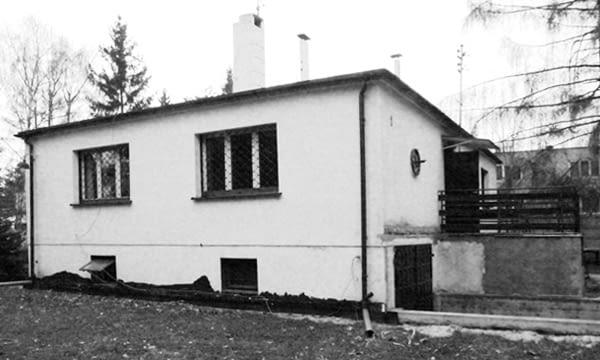 Dom w Grotnikach - stan przed modernizacją