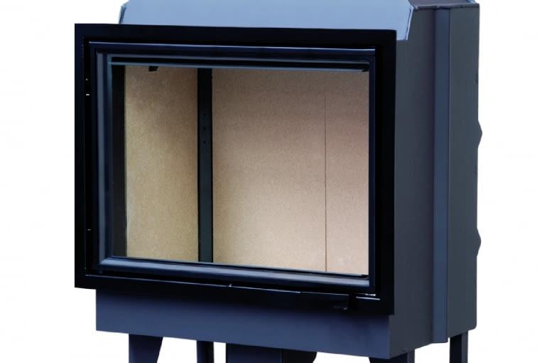 KFD ECO iLINE 5172 EX/KFD | Moc grzewcza: 12,8 kW | materiał: stal, szamot | wymiary (szer./wys./gł.): 718 x 1168 x 511 mm | cechy: ogrzewanie konwekcyjne i c.o., możliwość pracy w układzie zamkniętym, wymiennik cieplny bezpośrednio nad paleniskiem, system podwójnego spalania, wysoka sprawność, dolot powietrza, duża powierzchnia przeszklenia. Cena: 5990 zł, www.kfdesign.pl