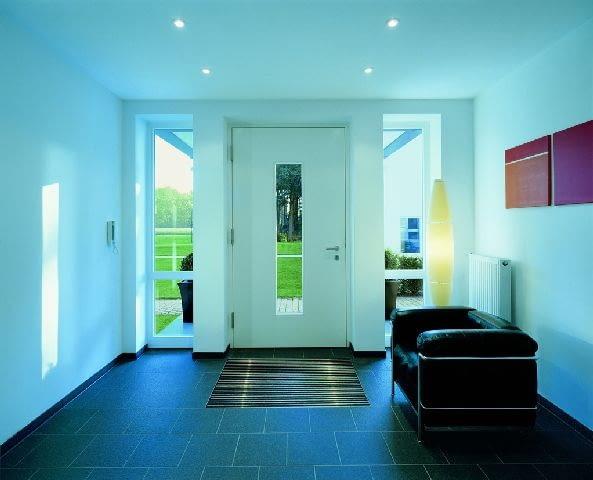 aranżacja wnętrz,drzwi wejściowe,wejście do domu,naświetla