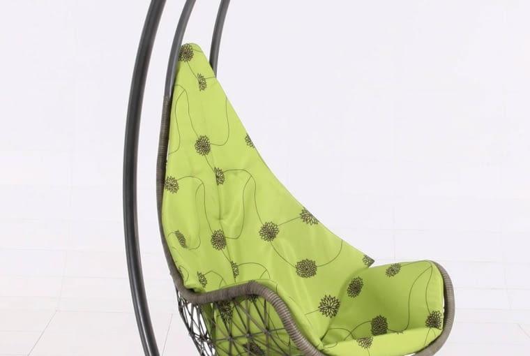 Fotel podwieszany, metal i technorattan, wys. 210 cm Praktiker, 1199 zł