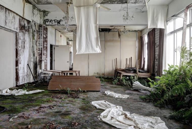 Opuszczone hotele w Japonii