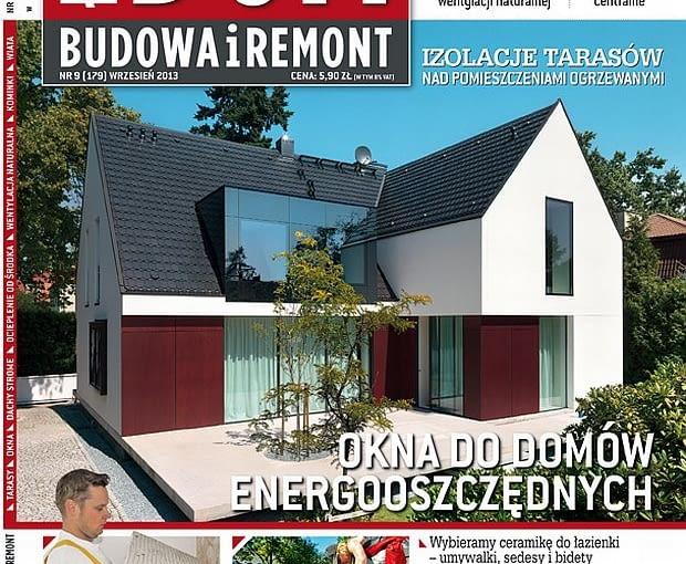 Okładka miesięcznika Ładny Dom 09/2013