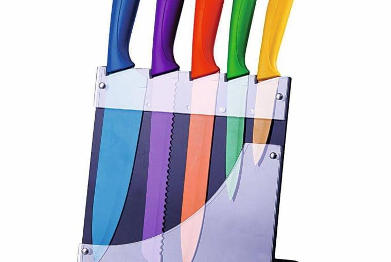 Do tych wnętrz pasuje: komplet noży Intenso, akryl, cena: 89 zł home&you
