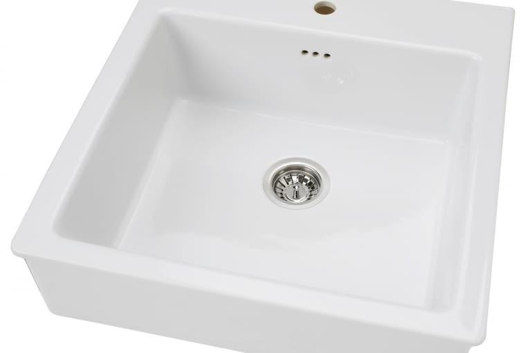 W stylu tego wnętrza: zlewozmywak jednokomorowy ceramiczny, IKEA, cena: 639 zł