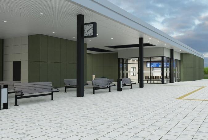 Wizualizacja nowego dworca systemowego w Nasielsku