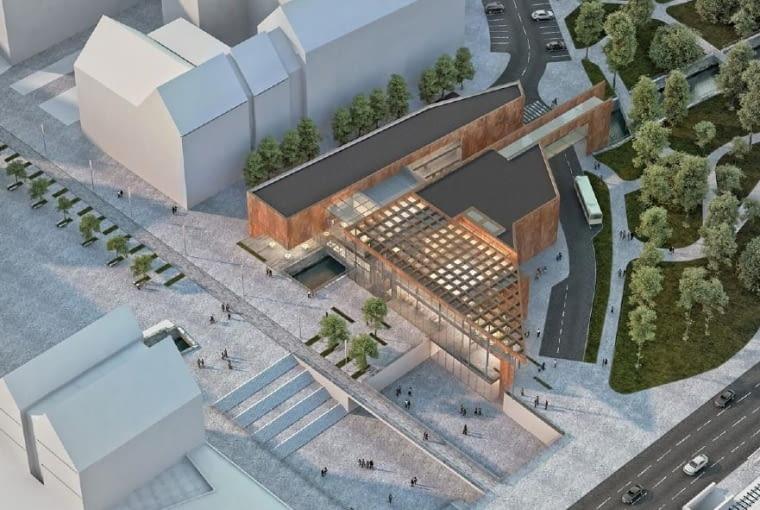 Projekt Centrum Dziedzictwa Historycznego Miasta Gdańska pracowni Kwadrat