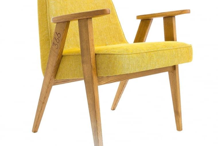 OD MISTRZA. Krzesło 366 wzorowane na kultowym meblu projektu Józefa Chierowskiego, około 1100 zł, 366 Concept