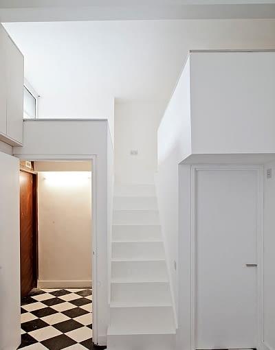 mieszkanie w Londynie, małe mieszkanie, jasne mieszkanie, jak powiększyć mieszkanie