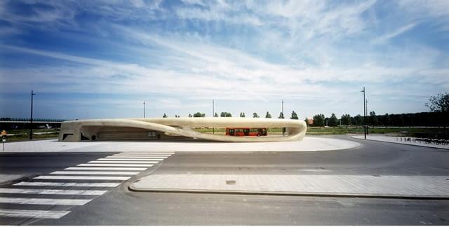 NIO Architecten, mała architektura, mała bryła, przystanek, przystanki, holandia