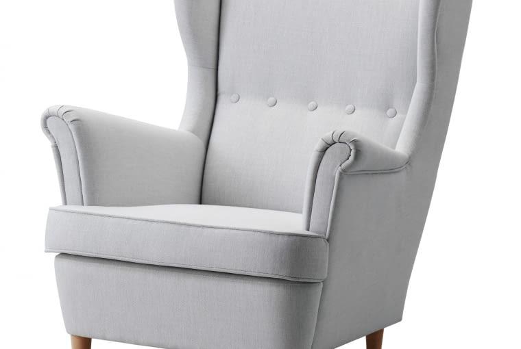 W stylu tego wnętrza: fotel Strandmon, IKEA, 899 zł