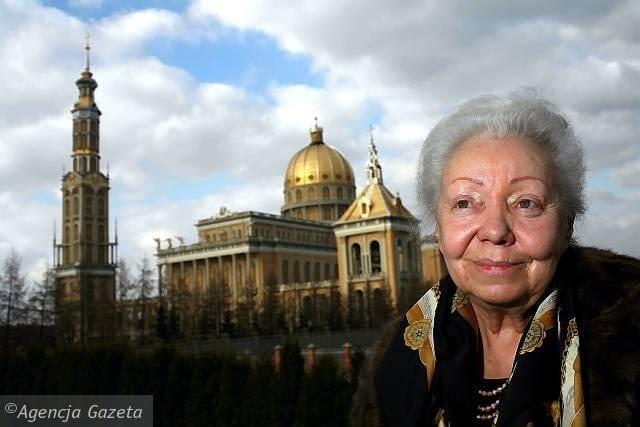 Monumentalistka Barbara Bielecka, ur. 1931