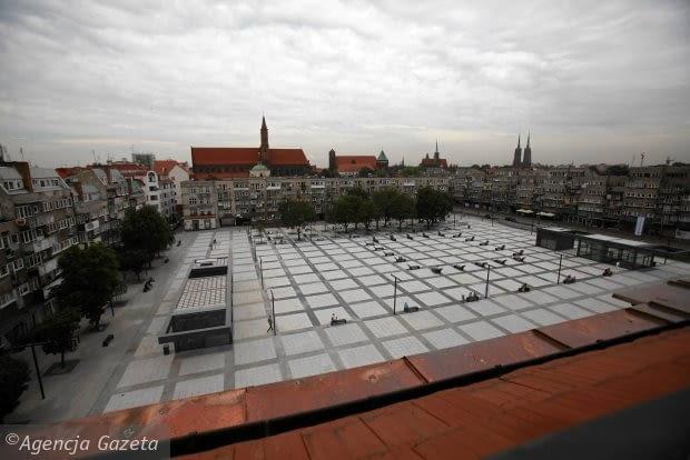 Plac Nowy Targ, proj. Roman Rutkowski Architekci, Wrocław, Fot. Mieczysław Michalak / Agencja Gazeta