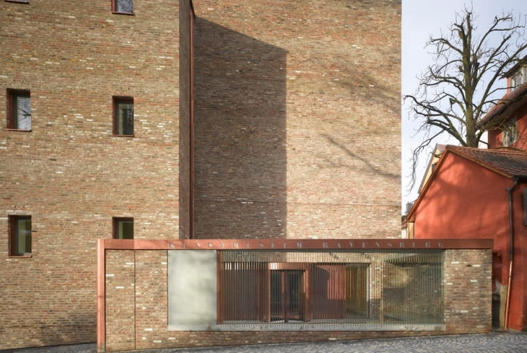 Muzeum Sztuki w Ravensburg, Niemcy, proj. LRO Lederer Ragnarsdóttir OEI