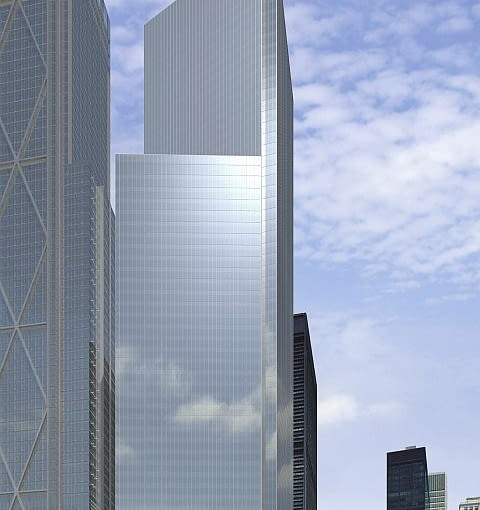 4WIC, World Trade Center, wieżowiec, Maki and Associates, nowy jork, Fumihiko Maki