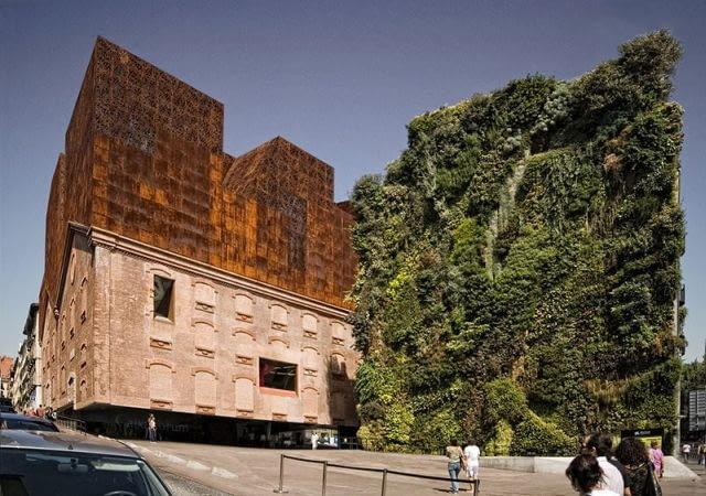 Galeria sztuki CaixaForum, Madryt, Hiszpania, 2007, proj. Herzog & de Meuron