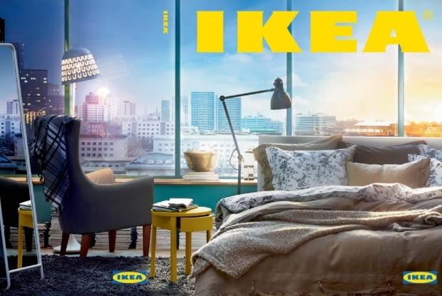 katalog IKEA 2015, wszystkie okładki katalogów IKEA, historyczne okładki katalogów IKEA, stare katalogi IKEA