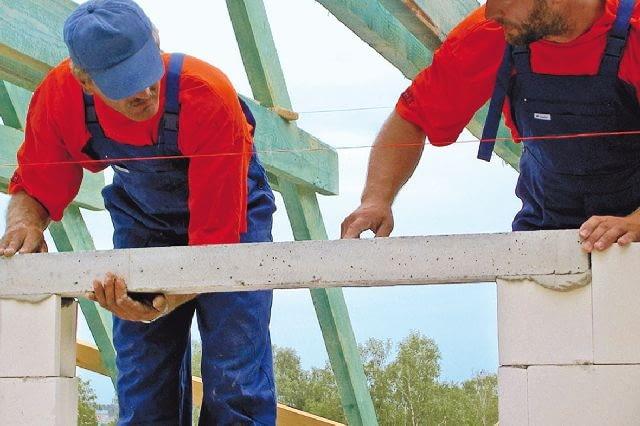 prefabrykowane belki nadprożowe z silikatów,silikaty,budowa domu,nadproża