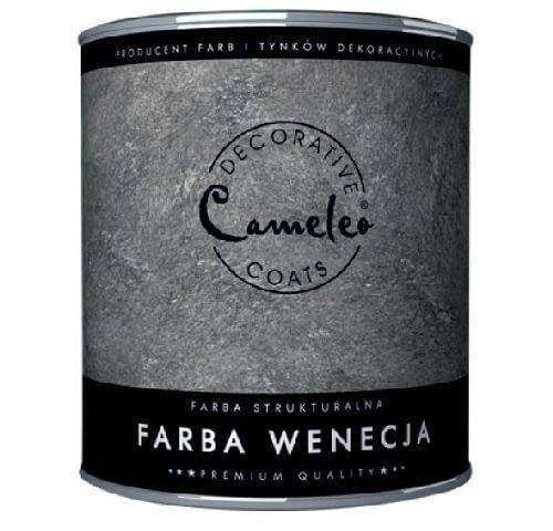 Farba strukturalna Wenecja firmy CAMELEO; efekt: stary tynk; kolor: barwienie według wzornika kolorów; cena: od 68,86 zł/kg