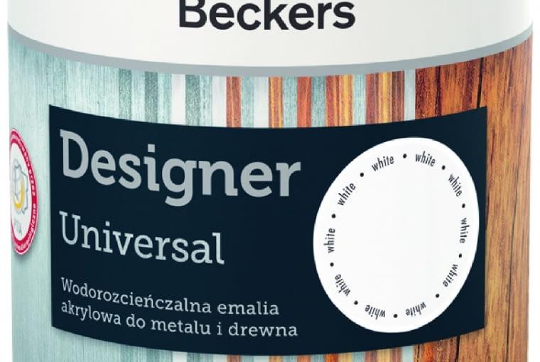 DESIGNER, do drewna imetalu, akrylowa 25 zł/0,5 l Beckers