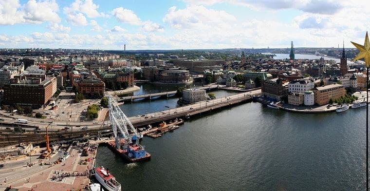 Panorama Sztokholmu, źródło: wikipedia.org