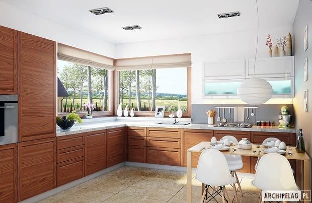projekty domów, realizacje domów, kuchnia