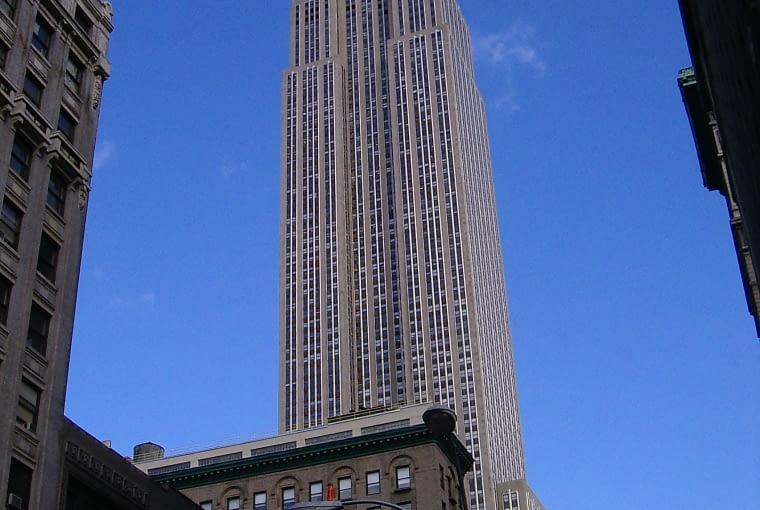 Empire State Building w Nowym jorku