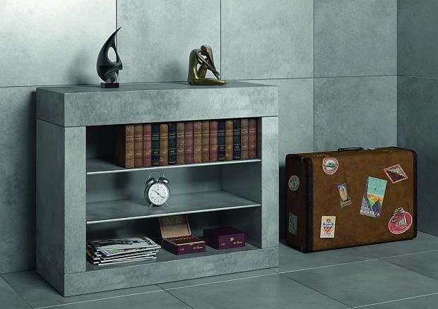 meble z betonu, beton we wnętrzach, beton w łazience, beton w kuchni, betonowy blat
