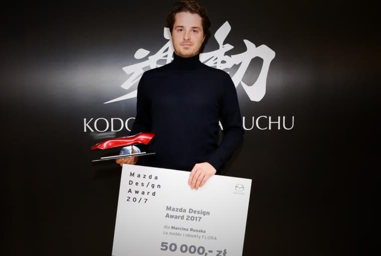 Marcin Rusak, laureat Mazda Design Award
