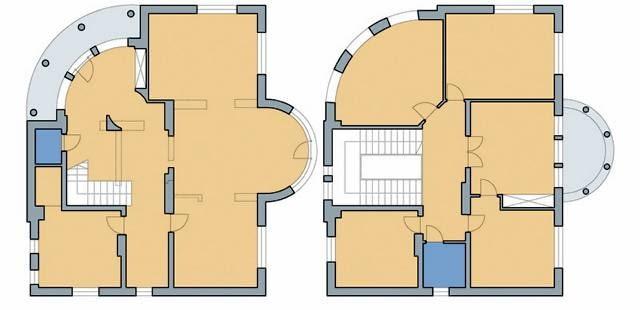 Plany domu po rozbudowie