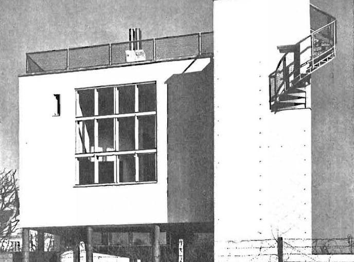 Dom trzyrodzinny, ul.Katowicka proj Bohdan Lachert, Józef Szanajca ,konst.Stanisław Hempel, bud 1928/29