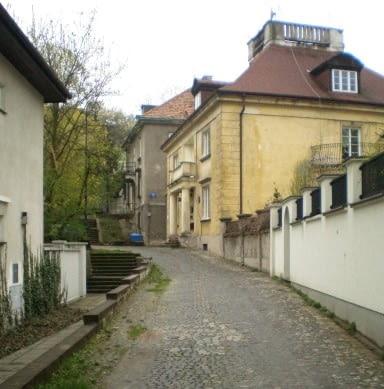 Kolonia Profesorska, osiedle domów własnych profesorów Wydziału Architektury Politechniki Warszawskiej, Warszawa, 1922-28