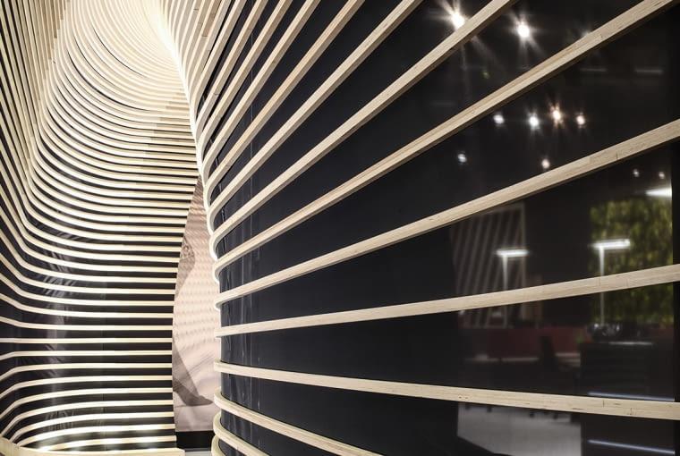 Stoisko zaprojektowane przez MOA Master od Arts dla marki OKA.