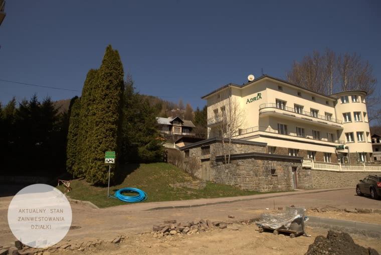 Budynek Adria - stan istniejący