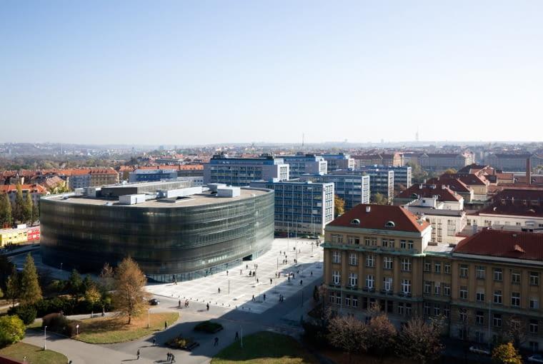 Czechy, Praga, biblioteka