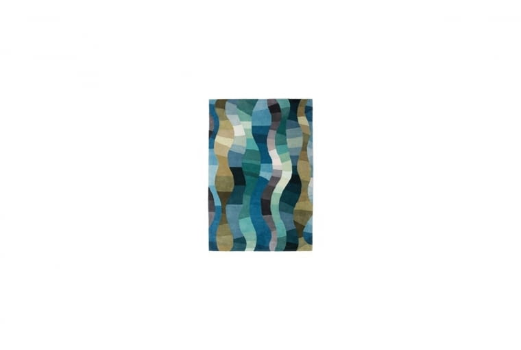 ESY-FLORESY. Dywan Twilight Ocean, wełna, 240 x 170 cm, 3139 zł, sfmeble.pl