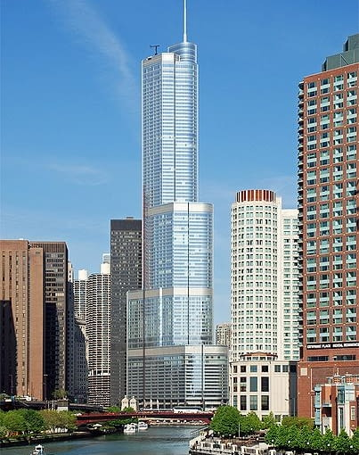 Trump International Hotel and Tower (Chicago), 2005-2009