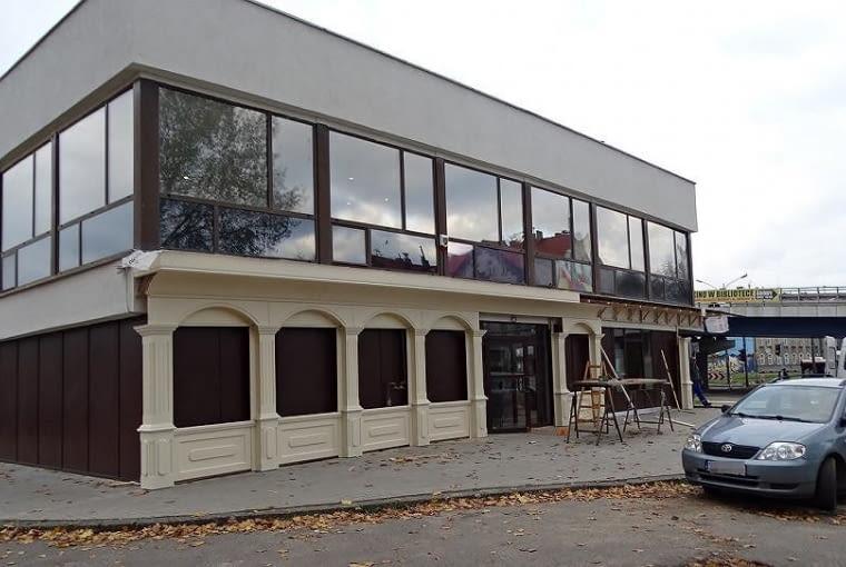 Dawny Pałac Ślubów w Sosnowcu kilka miesięcy temu.