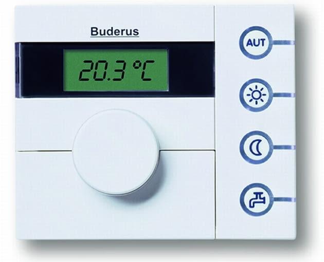 Na wyświetlaczu ciekłokrystalicznym termosatu pokojowego ustawimy wymaganą temperaturę we wnętrzu