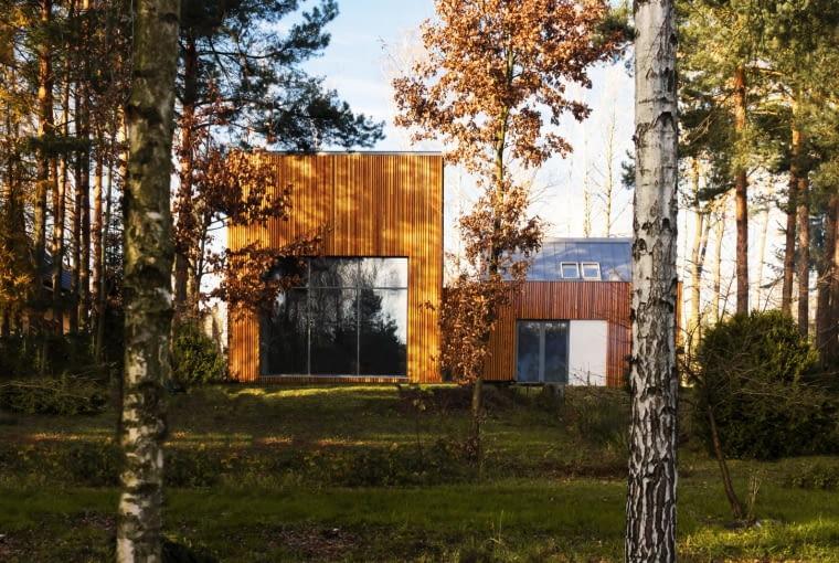 Dom w Kuźnicy Kiedrzyńskiej, projekt: grupa VERSO
