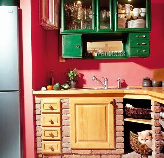 wnętrze, aranżacja, kuchnia